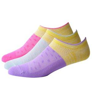 Pantofole da donna traspiranti sottili Calzini divertenti colorati colorati da ciclismo Calzini da passeggio da esterno in cotone con calzatura attiva 2 paia / lotto
