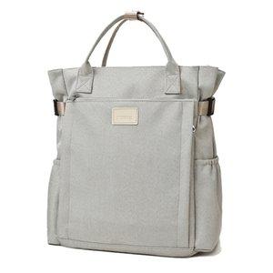 Wet and dry separation mom with diaper bag diaper shoulder messenger bag mom travel stroller baby storage care backpack