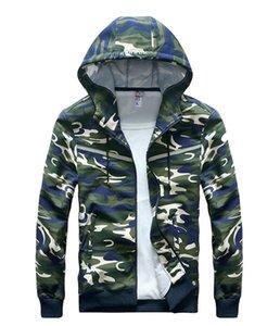 Mens Fashion Designer Jacken Langarm Strickjacke Hoodie Camouflage Hoodie Beliebte Jacke Mens New Regular Apparel