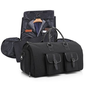 Multifunctional Bag Organizer Men Duffle Bag Large Capcacity Hand Luggage Bags Waterproof Travel Suit Storage Bag with Shoes Pouch