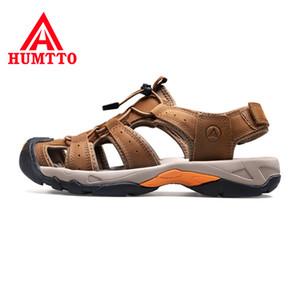 HUMTTO 2020 Neue im Freien Mens Strand Sandalen Casual Anti-Collision-Walking-Schuhe Männer Durable Sommer Angeln Sandalen