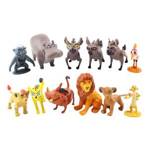 Мультфильм Лев гвардии Король Кион Симба ПВХ фигурки бунга Беште Фули оно фигурки куклы детские игрушки для детей