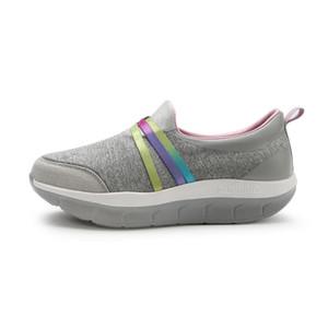Hot Sale-dimagrante estate delle donne Slip On Shoes femmina fitness dell'oscillazione del cuneo della piattaforma Calzature Scarpe da donna Lose