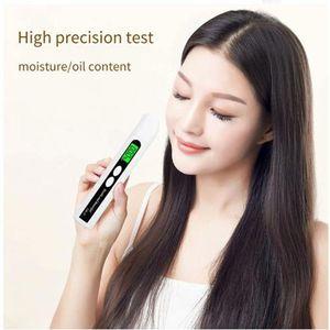 Skin Care Tool Face Scrubbers Sensor Monitor Oil Detector LED Display Analyzer Tester Digital Facial Moisture