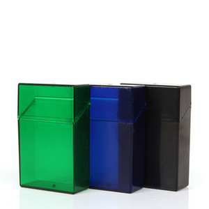 Newest Colorful Portable Tobacco Cigarette Stash Case Holder Storage Flip Cover Box Innovative Protective Shell Smoking High Quality DHL
