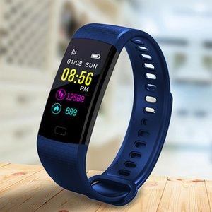 BANGWEI 2018 Smart Bracelet Blood Pressure Heart Rate Monitor Fitness Tracker Sports Smart Bracelet Fitness Pulsera inteligente