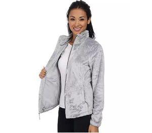 2019Winter NF Kadın Fleece Osito 2 Ceketler Moda Yumuşak Polar Sıcak İnce Coats Açık Bayanlar Marka Erkek Çocuk bombardıman Ceket Down Kadınlar Coat