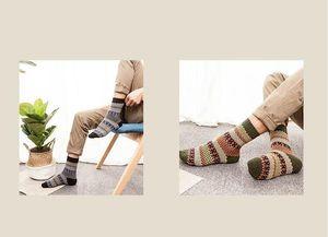 5Pair Mens soft spessore Angora Cachemire Cashmere casuale Casual Calzini in caldo inverno 5pairs / 10pcs