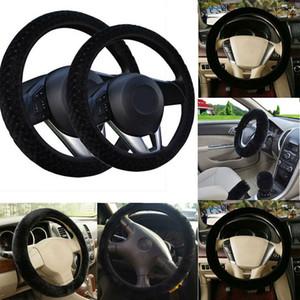 Quente macio Plush Car Inverno volante tampa Elastic Universal Steering Tampa Auto Roda Suprimentos Carros Acessórios