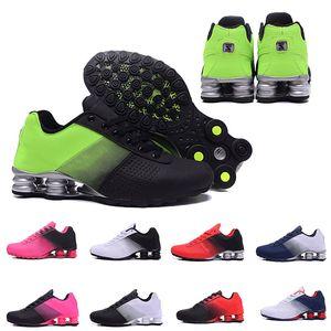 shox shoes Nova Entrega 809 Homens Sapatos de Corrida Famosa Moda Feminina Mens DELIVER OZ NZ Tênis Esportivos Tênis 36-46