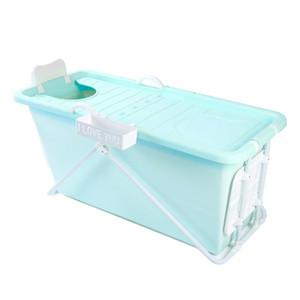 Lengthen Folding Portable Insulated Bathtub for Adults Inflatable Bath Straight leg Bathtub grade non toxic Soft material