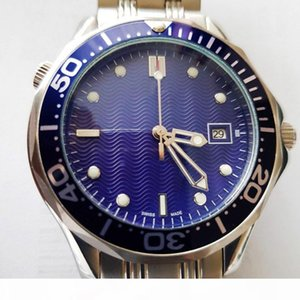 2018 Luxury Mens Professional 300m James Bond 007 Blue Dial Sapphire Automatic Watch Men's Watches