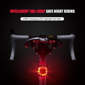 Cycling Seat Post Tail Light IP65 Bike Easily Installation Personal Bicycle LED Bicycle Rear Light USB Rechargeable Parts