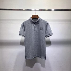 디자이너 남성 폴로 셔츠 여름 브랜드 폴로 셔츠 남성 패션의 고급 T 셔츠 비즈니스 짧은 소매 디자이너 티 2020769K 탑