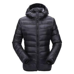 Zogaa mujeres ultra ligera chaqueta con capucha abajo cubren invierno Slim Fit Solid cremallera Abrigo Otoño Invierno Mujeres Parka Outwear