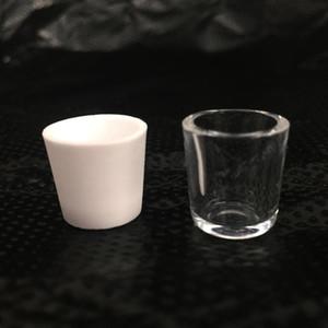 Quarzo di ceramica Inserire Ciotole per fumatori Donut Inserire quarzo Dab Pen ciotola Braciere per Dry Herb Vaporizer