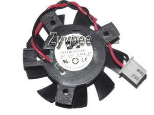 مروحة بطاقة الفيديو ARX CeraDyna 4cm 12V 0.09A FS1240-A3112A FS1240-A3012A 2Wire Video Fan