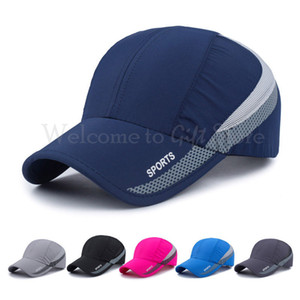Mesh Cap Sport Outdoor Ultra-sottile Quick-Drying Cap Sport Outdoor traspirante Cappello da baseball Berretto da baseball TRA017