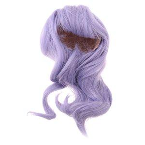 1 3 BJD Long Curly Hair Wig for SD DD DZ LUTS KID DOC Making & Repair