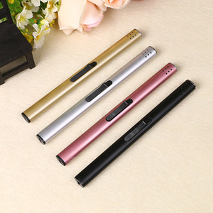IN STOCK Colored Mini Lighter for Candle Kitchen Giant Heavy Duty Refillable Micro Culinary Lighter Smoking Accessories