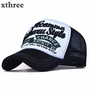 2018 New 5 panels embroidery summer baseball cap casual mush cap men snapback hat for women casquette gorras