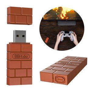 مصغرة 8Bitdo USB محول بلوتوث اللاسلكية غمبد الاستقبال للحصول على ويندوز ماك لNintend تبديل لPS3 المراقب / إكس بوكس