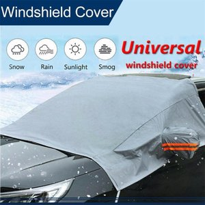 CARPRIE 2020 New hot sale Universal Winter Snow Block Car Front Bumper Half Car Wash Cover Snow And Frost High quality 0207