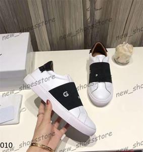 Damen Herren-Sommer-beiläufige Schuh-Turnschuh-Patchwork-weißes Leder Loafers Kleid Schuhe Sneaker Kleid Schwarz Weiß Turnschuhe des chaussure