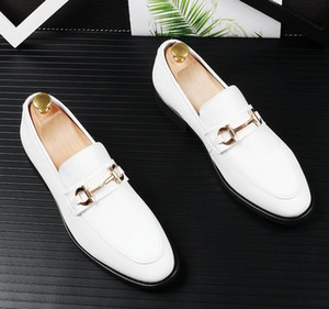 chaussures de mariage classiques chaussures habillées hommes designer hommes robe robe chaussures plates office for male 43