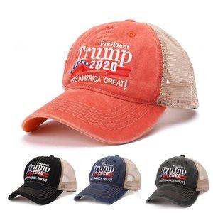 Keep America Grande Cappello 2020 Trump Donald ricamato Baseball Caps Cappello 4 colori protezioni registrabili US Campaign Trump Sport Baseball BH2040 CY