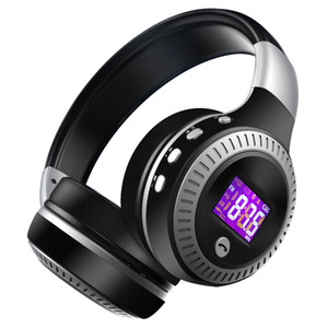 Casque Bluetooth Hot de haute qualité sans fil casque sur l'oreille FM Radio Micro SD Card MP3 Lecture avec microphone ZEALOT B19