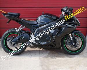 Pour Suzuki GSX R600 R750 K6 06 07 GSXR GSXR 600 750 2006 2007 GSXR600 GSXR750 Noir Carénage Kit (moulage par injection)