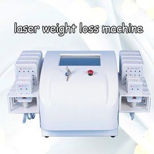 2020 Neue Tech Laser Lipo Maschine 650nm980nm Kaltlasertherapie Fettabsaugung Fettentfernung Behandlung Körper Abnehmen Gerät