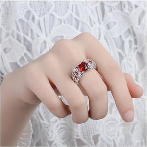 2019 EuropeanAmerikan kız moda parmak yüzük kalp şekilli elmas yüzük açılış yüzük tatlı parmak jewerly kadın moda aksesuarları
