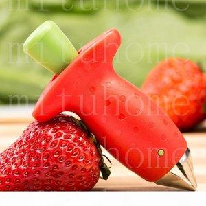 NUOVO Strawberry Pomodori Corer Stem Huller Remover Gambi Staminali Remover fragola alimentatore di frutta verdura del Digging
