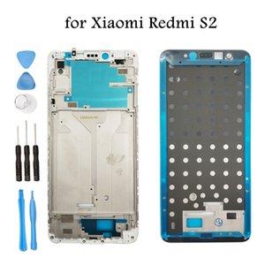 para Xiaomi Redmi S2 / Redmi Y2 Placa de la carcasa del marco intermedio Bisel Placa frontal Bisel LCD de soporte de reparación del marco frontal Repuestos
