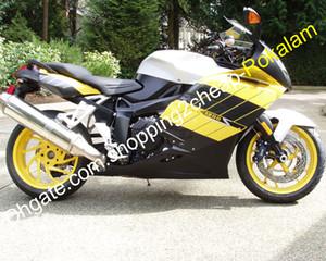 Pieza de motocicletas de carrocería para BMW K1200S PIEZAS K1200S 2005 2006 2007 2008 K 1200S 05 06 07 08 Kit de carenaje blanco negro amarillo