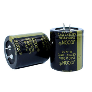 JCCON Thick-foot electrolytic capacitor 200v1500uf volume 35x40 Inverter power