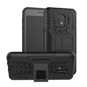 Hybrid Armor Case For LG Aristo 3 Tribute Empire Samsung Glaxy J2 Core J260 2019 Nokia 3.1 Plus Soft TPU PC Kickstand Holder Phone Cover