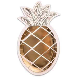 lustiges obstgeschirr geburtstagsfeier schönes geschirr vergoldungsteller ananasform dekorative artikel einweg 7 9pm k1