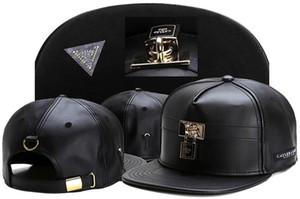 Moda Cayler Sons Snapbacks Berretti da baseball di marca Hip Hop Street Dance Hat Gorras Berretto regolabile per uomo donna Cappellino in pelle nera nave libera