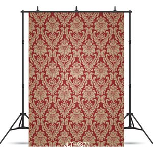 red step and repeat wallpaper Vinyl photography background for child baby shower new born backdrop photocall