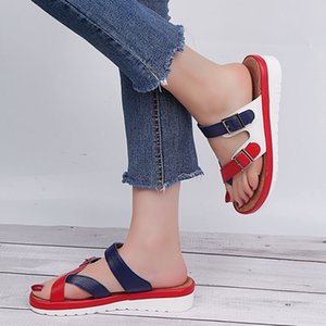 SARAIRIS New Fashion 2020 gros Big Taille 43 Chaussures Femme de couleur Mix Chaussons Dropship Femme Chaussons Chaussures tongs