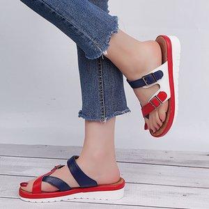 SARAIRIS nuovo modo 2020 commercio all'ingrosso di grande 43 scarpe di colore della miscela Donna Pantofole Dropship Pantofole Donne scarpe infradito