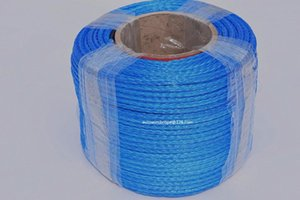 Blue 6mm*100m 12 Strand Synthetic Winch Rope,ATV Winch Line,12 Plait UHMWPE Rope,Off-Road Rope