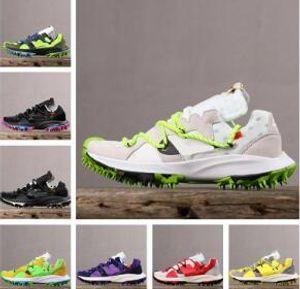 2020 Zoom Terra Kiger 5 Athletics Chaussures de course Vert Noir Blanc Outdoor MEN crampons Formateurs Sport Mens Designer taille Sneakers 40-45