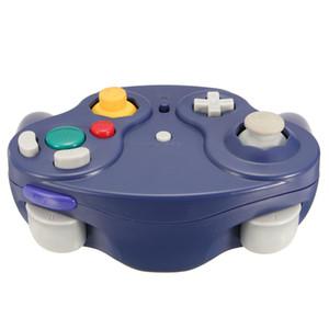 2.4Ghz Wireless Controller Jogo Gamepad Para Nintendo Gamecube NGC Wii - roxo Um