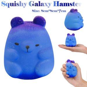 Squishy Toy Galaxy Hamster lenta Nascente Perfumado Estresse Aliviar Antistress Toy Educacional Aprender Brinquedos L1219