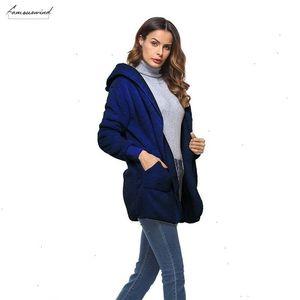 S 5Xl Faux Fur Teddy Bear Coat Jacket Women Fashion Open Stitch Winter Hooded Coat Female Long Sleeve Fuzzy Jacket Hot New