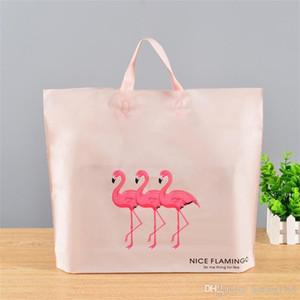 Nuovo Creative Kids Flamingo bella Couture regalo avvolgere pieghevole in plastica Cosmetici Storge sacchetto di grande capienza vendita calda 20gy3